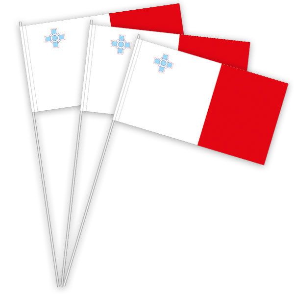 Malta Papierfahnen kaufen