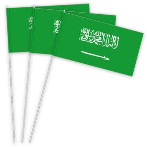 Saudi Arabien Papierfahnen kaufen